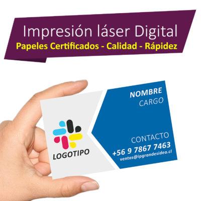 Impresiones Láser Digital